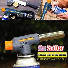 Burner Flame Jet Gas Butane Torch Welding Solder Iron Soldering Lighter Blow