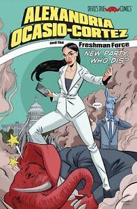 ALEXANDRIA OCASIO CORTEZ & THE FRESHMAN FORCE - ONE-SHOT FULL-COLOR COMIC BOOK