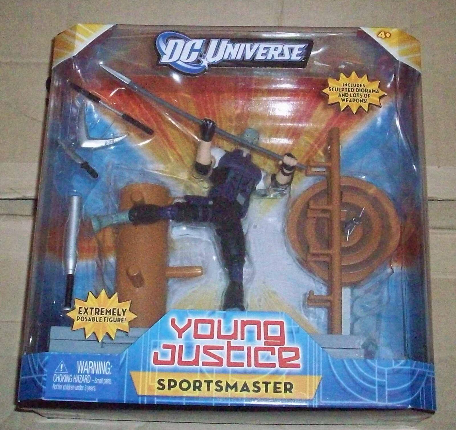 DC UNIVERSE CLASSICS YOUNG JUSTICE 6  BOX SET ACTION FIGURE SPORTSMASTER NINJA