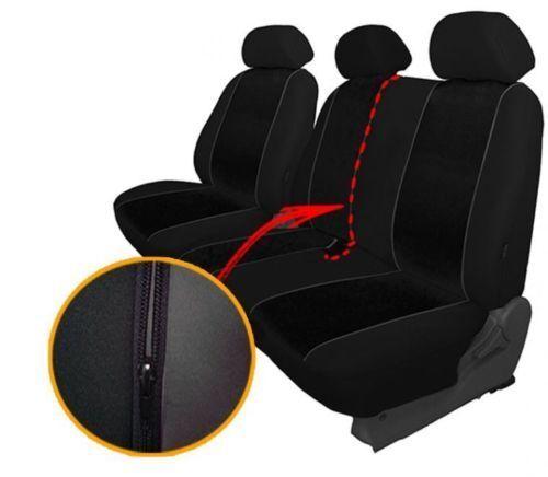 Green Eco-Leather Universal VAN Seat Covers 2+1 for Volkswagen T4 1989-2003