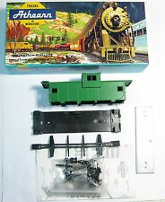 ATHEARN 5360 HO Scale Wide Vision Caboose Undecorated NOS MKT Green (5360G)