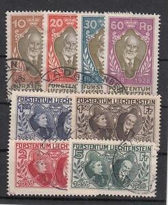 Liechtenstein-Nr-82-89-gest