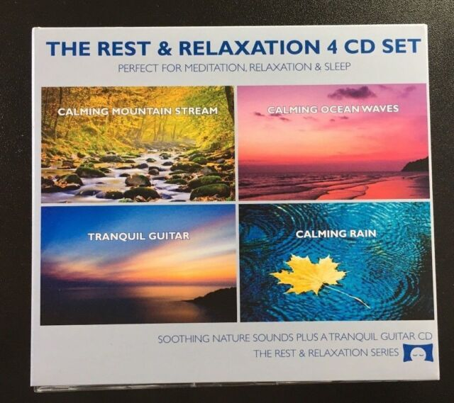 Relaxing Nature Sounds 4 CD Set - for Meditation, Relaxation and Sleep