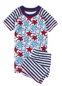 de5fe0859 NWT Gymboree Boy 2 pc Pajamas Gymmies Star Spangled Days 18-24 M
