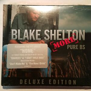 Pure-BS-by-Blake-Shelton-Deluxe-Edition-CD-May-2008-Warner-Brothers-Nashville