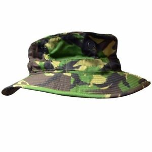 S95-DPM-Camouflage-Bush-Hat-British-Army-Boonie-Sun-Cap-Military-Camo-Surplus-UK