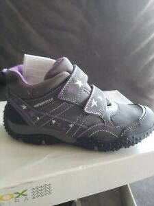 Inmuebles en frente de colección  GEOX J Baltic boot/ bootie. Girls Youth 3.5 ( 35) Gray / Purple Wat | eBay
