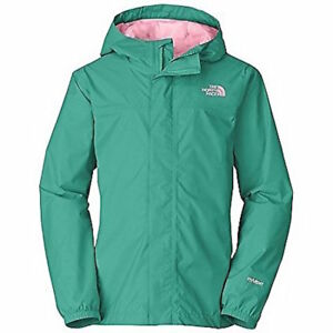 42b079357 Details about The North Face Girl Zipline Rain Hoodie Jacket-Size XXS5  Jaiden Green