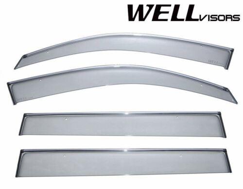 For 08-13 Toyota Hightlander WellVisors Side Window Visors Premium Series
