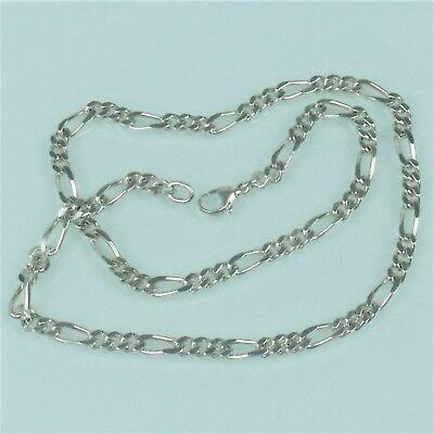Humor Halskette / Silberkette / Panzerkette 925 Er Silber Ca. 33g (180324) 100% Garantie