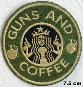 liebe Eisen Cm Gewehre Flecken 7 Ich Kaffee Jacken Hemd und gesticktes 5 Abzeichen nähendes IdSxwpxq