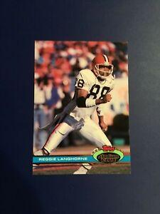 1991-Topps-Stadium-Club-105-REGGIE-LANGHORNE-Cleveland-Browns-Great-Card