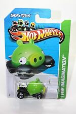 Hot Wheels Angry Birds Minion Pig Cast Metal  Scale Car Hw