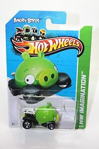 Image Is Loading Hot Wheels Angry Birds Minion Pig Cast