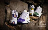 Reebok Question Mid Packer Shoes For Player Use Only Lebron Kobe Pack Lot