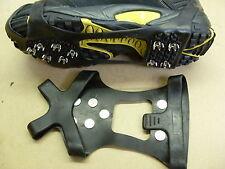 Medium Size, SHOE GRIPPERS Set.. 10 Studs.. slip feet steel magic Safety falling