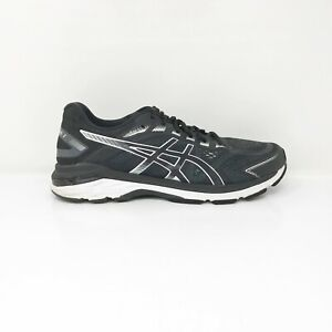 Asics Mens GT 2000 7 1011A158 Black White Running Shoes Lace Up Size 10.5