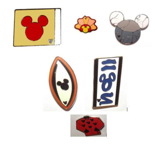 2010 Hidden Mickey Series Disney Resorts Disney Pin Set WDW
