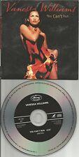 VANESSA WILLIAMS You Can't Run 1990 USA PROMO Radio DJ CD single Carded Sleeve