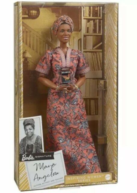 "Maya Angelou Barbie Signature Inspiring Women Series Collector 12"" Doll NEW"