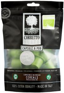 40 Capsules Compatibles Nespresso Bevanda Aux Céréales Bio