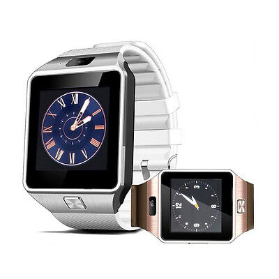 SmartWatch DZ09 Armbanduhr Bluetooth iOS Android Samsung iPhone mit SIM Kamera