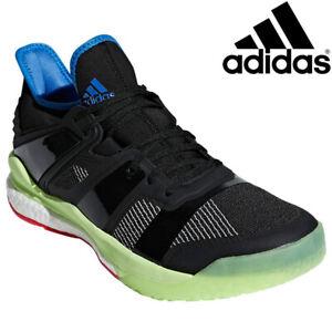 Analista anillo Pareja  adidas Stabil X INDOOR Volleyball Handball Badminton Squash Men 11.5 Boost  Shoes | eBay
