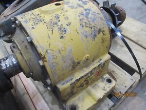 Rexnord earth gear reducer 17-1 ratio