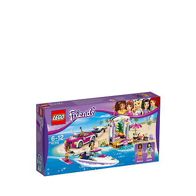 NEW Lego Friends Andrea's Speedboat Transporter 41316