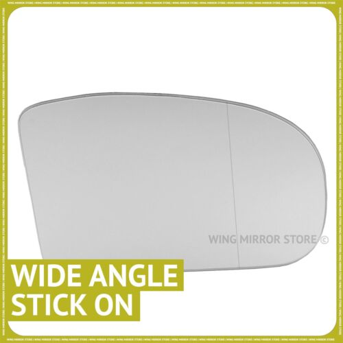 Right side for Mercedes C-Class W203 2000-2007 Wide angle wing mirror glass