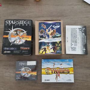 Starsiege Universe, Sierra, PC Big Box CD-ROM
