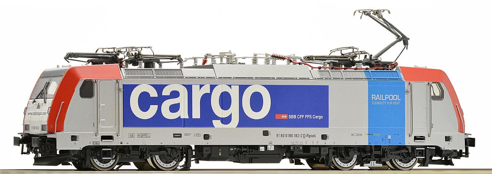 Pour märklin ROCO 79653 BR 486 SBB cargo Railpool Ep VI mfx possible