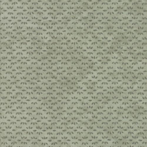 Moda Fabric Prairie Grass Pepper Leaf Print Light Green Per 1//4 Metre