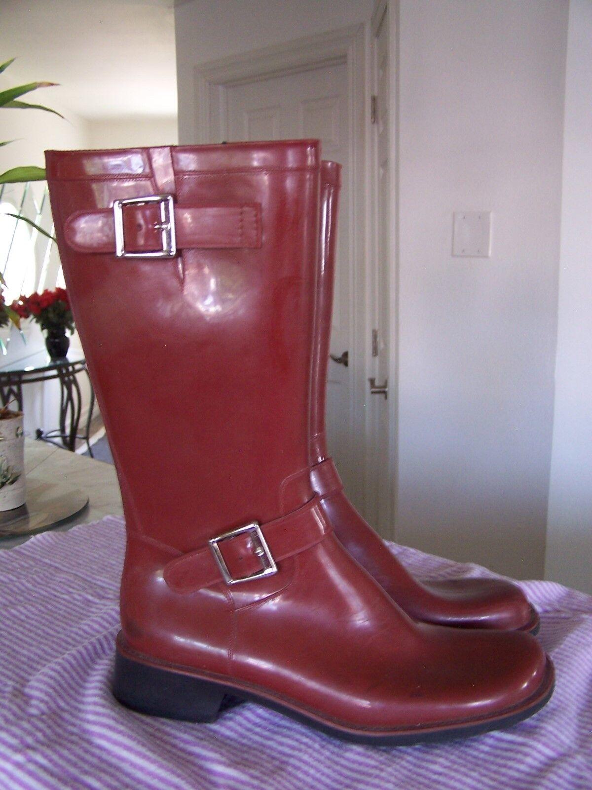 DONALD J PLINER Womens Rubber Rain  Boots Booties Size 9