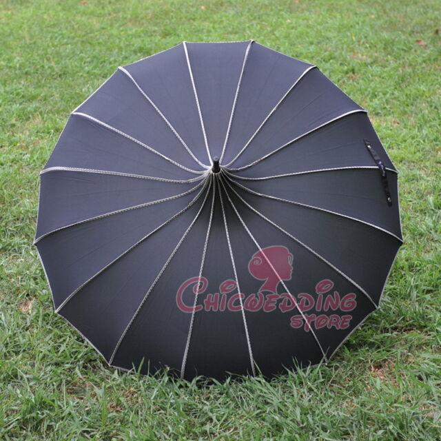 Wedding Bride umbrella Pagoda Parasol wind-proof umbrella
