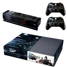 Final Fantasy XV FF15 Xbox ONE Vinyl Skin Sticker for Console & 2 Controllers