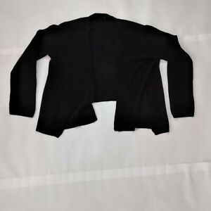 H-amp-M-Womens-Open-Front-Crochet-Knit-Stretch-Comfort-Cardigan-Sweater-Size-S