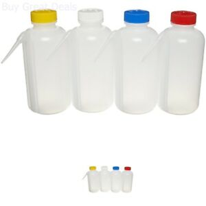 85e3397acb74 Details about Nalgene 2423-0500 LDPE Color-Coded Unitary Wash Bottle, 500mL  Capacity, Colored