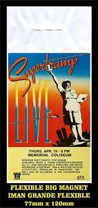 Supertramp-LIVE-Breakfast-in-America-FLEXIBLE-BIG-MAGNET-IMAN-GRANDE