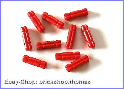 Lego 20 x Technic Achse 32062  rot 2L