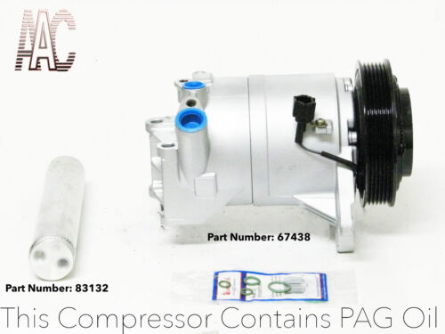 A//C Compressor for Nissan Maxima 2003-2007 V6  3.5L Remanufactured # 67438