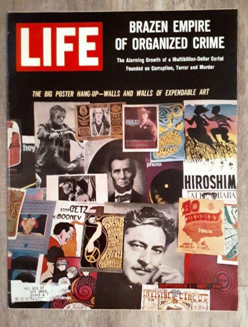LIFE MAGAZINE - Brazen Empire Organized Crime VOL. 63, NO. 9, SEPTEMBER 1, 1967