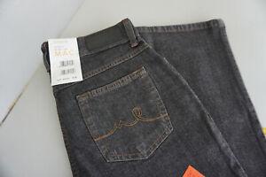MAC-Melanie-Jeans-Femmes-Pantalon-Stretch-36-34-w36-34-gris-fonce-NEUF
