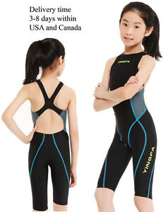 e072cf45170cd NWT Yingfa 953-2 full Knee Swimsuit one piece swimsuit for racing ...