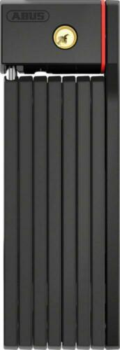 ABUS uGrip Bordo BIG 5700 Folding Lock Black Keyed 100cm//3.3ft