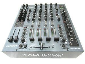 Allen-amp-Heath-Xone-92-Graphite-Gris-Professionnel-4-Channel-Midi-Dj-Mixer-Inc