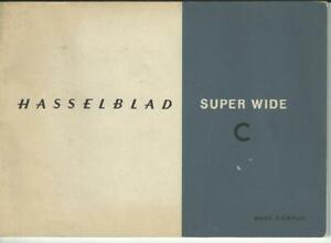 Hasselblad Super Wide C: Mode d'Emploi (Lingua Francese)