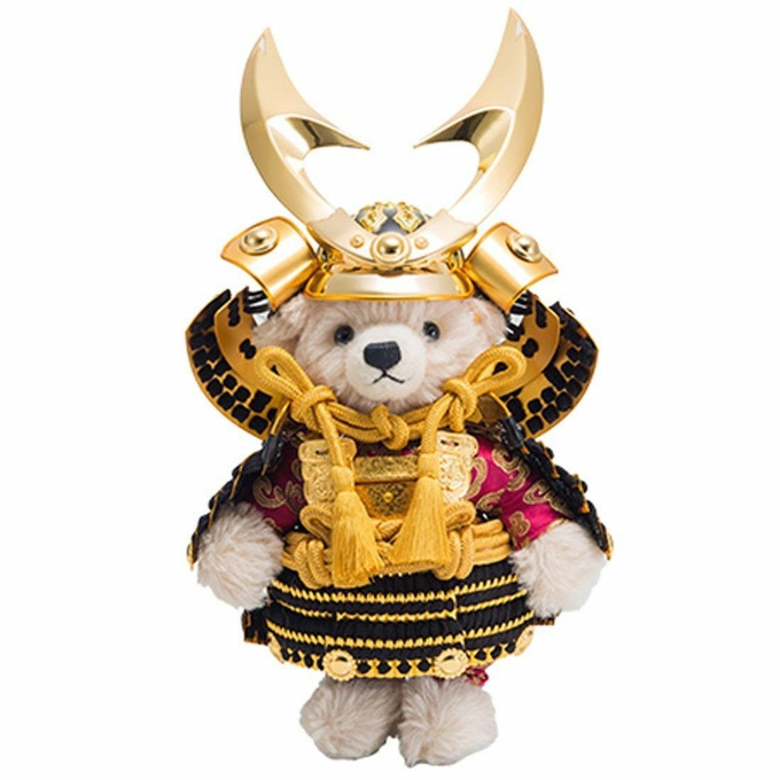 NEW Steiff SAMURAI Teddy Bear Kabuto 2019 500pcs Japan Limited Helmet and Armor