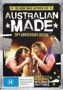 AUSTRALIAN-MADE-30th-Ann-Ed-DVD-INXS-JIMMY-BARNES-MODELS-DIVINYLS-NEW