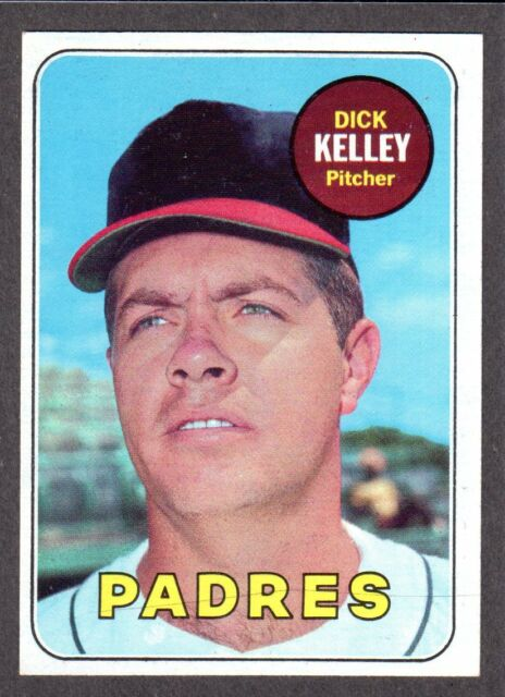 1969 TOPPS #359  Dick Kelley  SAN DIEGO PADRES  EX-MINT  A